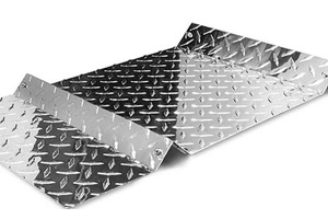 Alloy 3003 1060 3105 aluminum diamond tread plate weight