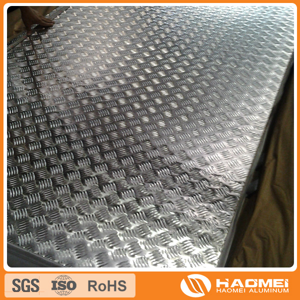 5083 6061 Hot Rolled Aluminum Tread Plate