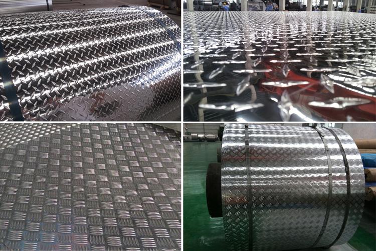 Aluminium Checker Plate 2mm Thick 5 Bar Tread Plate