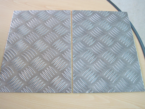 Aluminium 5 Bar Tread plate