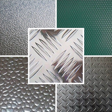 aluminium tread plate with variety of patterns
